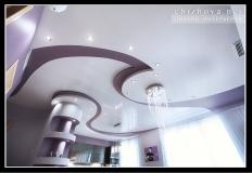 Гостиная потолок