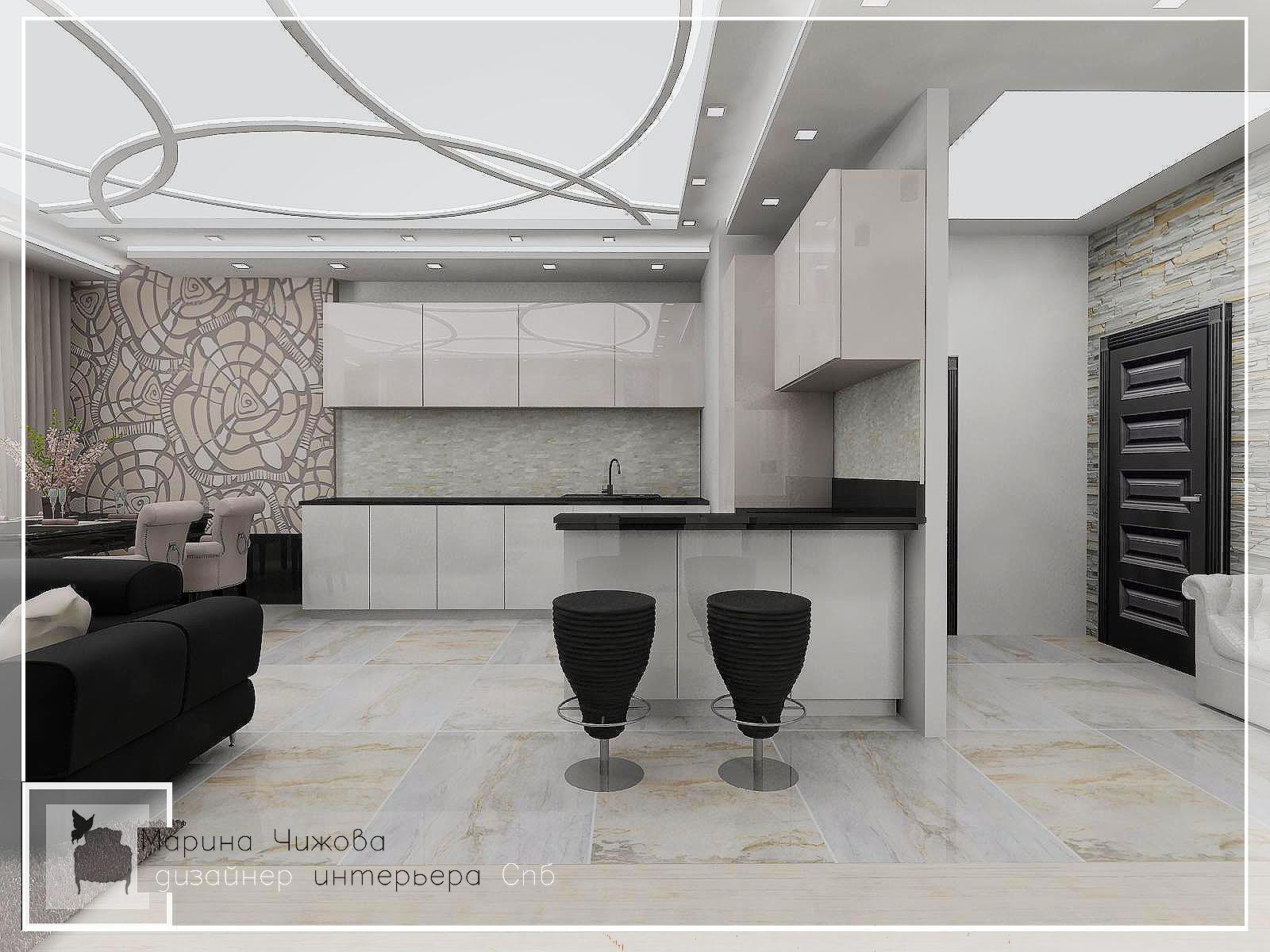 Дизайн гостиной. Дизайнер интерьера спб Марина Чижова