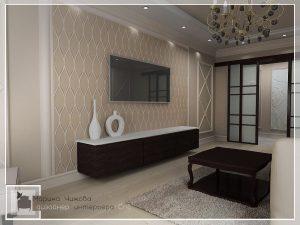 Дизайн гостиной. Красивый интерьер