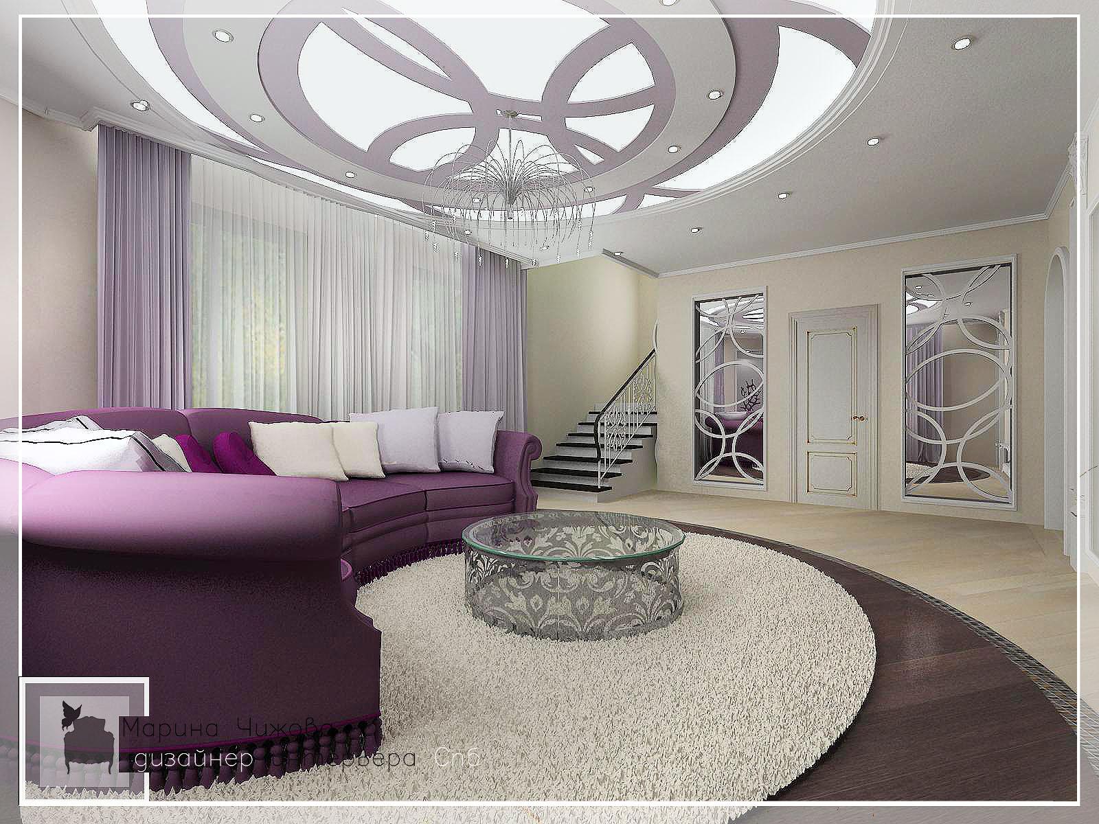 Дизайн гостиной.