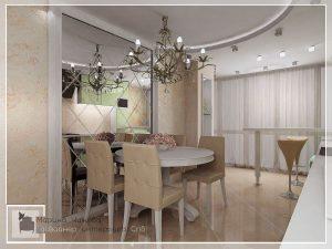 Проекты интерьера красивых кухонь