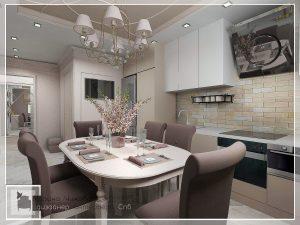 Интерьер уютной кухни. Дизайн кухонь Спб