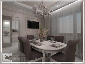 Дизайн кухни, столовой