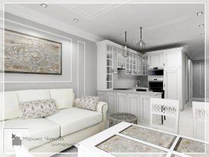 Дизайн кухни дизайн квартир
